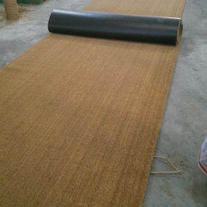 Gold Brown Natural Fiber Coco Coir Coconut Palm Fiber Carpet Rugs Matting Runner Rolls Flooring pictures & photos