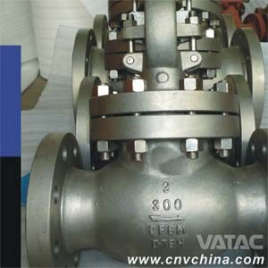 Vatac Carbon Steel Flanged Globe Valve pictures & photos