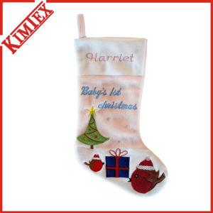 Whoesales Santa Holiday Promotion Giving Christmas Stocking pictures & photos