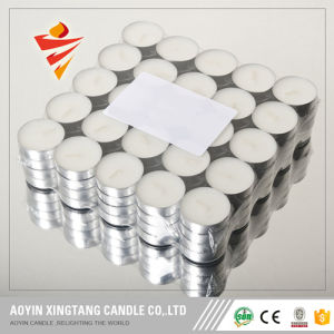 Paraffin Wax Mini White Tealight Candle to Malaysia pictures & photos