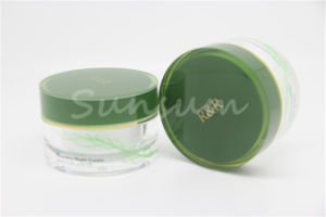 Customized Wholesale Pet Frostedcream Jar with Screw Cap Cosmetic pictures & photos
