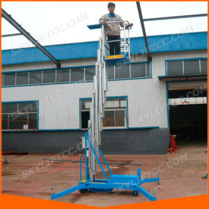 Vertival Aerial Working Platform Lift for One Man pictures & photos
