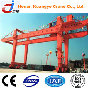 U Type 10~50/10t Double Beam Gantry/Door Crane with Hook