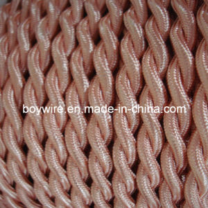 Light Pink Cloth Covered Wire (2*0.75) pictures & photos