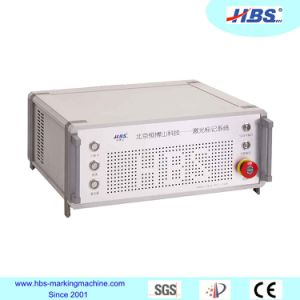 Hbs 20W Metal and No Metal Tabletop Fiber Laser Marking Machine with Raycus Laser Source pictures & photos