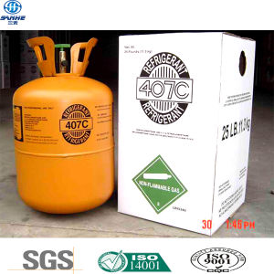 Mixed Refrigerant Gas R407c with Factory Price pictures & photos