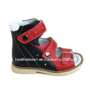 Graceortho Children Sandal Stability Sandal Leather Sandal (4811331-1) pictures & photos