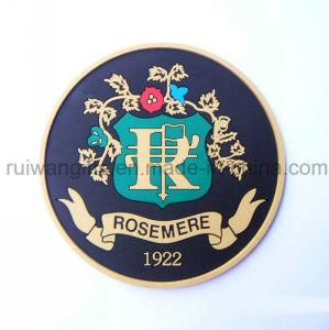 Fashion Soft PVC Rubber Mug Mat for Souvenirs pictures & photos