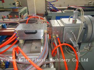 WPC Profile Making Machine/Profile Extrusion Line pictures & photos