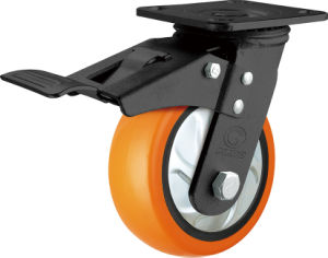Glide Heavy Duty PU Caster (G4206D) pictures & photos