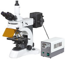 Ht-0200 N-800f Laboratory Biological Fluorescent Microscope pictures & photos