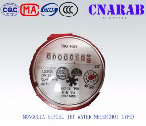 Mongolia Single Jet Hot Water Meter pictures & photos