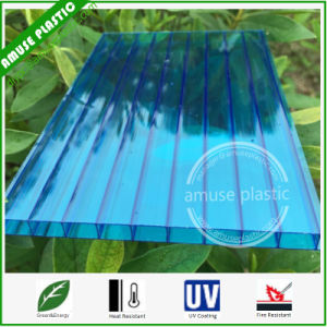 UV Protection Translucent Two-Wall PC Honeycomb Solid Hollow Compact Sheets pictures & photos