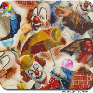 Tsautop 0.5m Tscw084 Clown Image Water Transfer Printing Paper pictures & photos