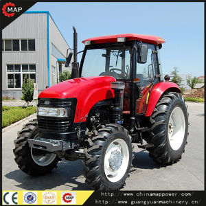 Map Power Wheel Farm Tractors Made in China pictures & photos