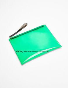 Fashion Transparent Color Clutch Bag TPU Envelope Bag pictures & photos