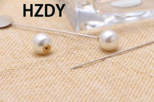 Lapel Pin/Brooch with 1.50cm Wafer and Pearl pictures & photos