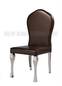 Europe Classic Luxurious PU Leather Dining Chair (NK-DC016)