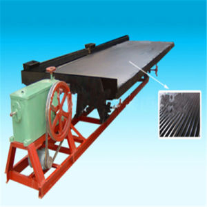 Gravity Shaking Table for Alluvial and Placer Gold Separation pictures & photos