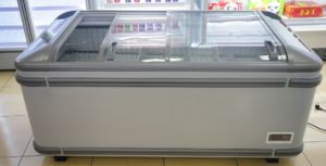 Swd-2000cy Glass Door Fast Freezing Refrigerator pictures & photos
