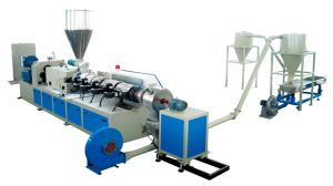 PVC Plastic Granulator Pelletizing Line pictures & photos