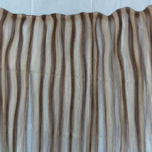 Wholesale Top Quality Hand Tied Human Hair Weft pictures & photos