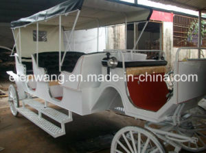 Tourist Horse Carriage with High Hood pictures & photos