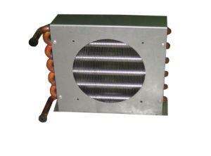 1/4 HP Air Cooled Copper Condenser, Copper Tube Condenser pictures & photos