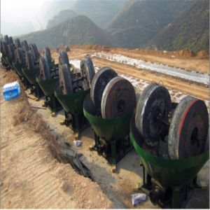 Wet Pan Grinder Mill for Gold Ore Selection pictures & photos
