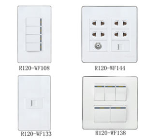 Wall Switch and Socket (R120-WF Series) pictures & photos