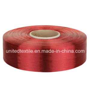 100% Polyester Dope-Dyed Filament Yarn FDY (300d/96f Trilobal Bright) for Hand Knitting, Weaving pictures & photos