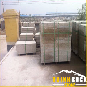 Yellow Granite Tile for Stone Exterior Floor/Wall
