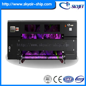 Skyjet Automatic High Effeciency Solvent R2r Printer Sde3300