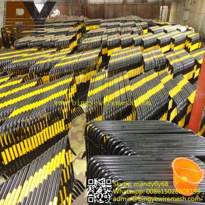 High Quality Galvanized Traffic Control Barrier Crowd Control Barrier pictures & photos