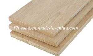 White Oak Veneered Plywood for Furniture and Decoration pictures & photos