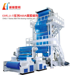 ABA Coextrusion 3 Layer Film Blowing Machine (manufacturer) pictures & photos