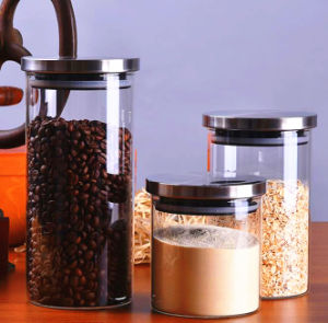 600ml 800ml 1000ml Storage Bottle Glass Jar Glass Container pictures & photos