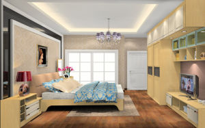 Modern Wooden Wardrobe Closet Bedroom Furniture (zy-010) pictures & photos