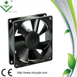 Small Solar Powered 80mm 80X80X25mm High Velocity Cooling Fan pictures & photos