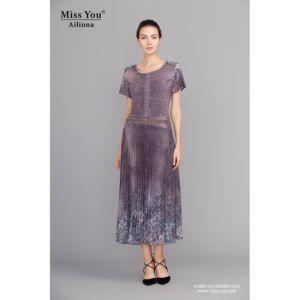 Miss You Alinna 100957 Crumple Chiffon Long Dress Distributor Beautiful Dress pictures & photos