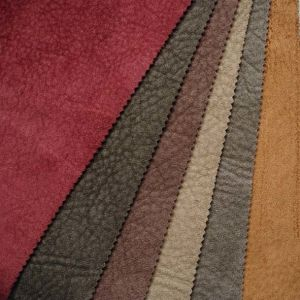 100% Polyester Faux Suede Fabric for Shoes