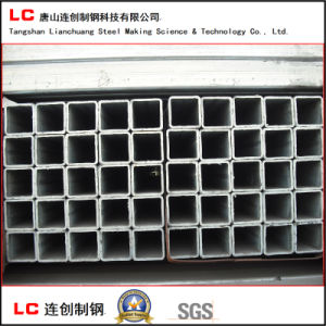 100mmx100mmhot Dipped Galvanized Square/Rectangular Steel Pipe for Structure Use pictures & photos