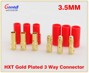 Gold Plated Hxt Bullet Connector