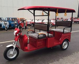 Electric Tricycle Passenger Taxi pictures & photos