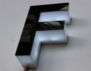 Hot Sale LED Side Lighting Acrylic Letter pictures & photos