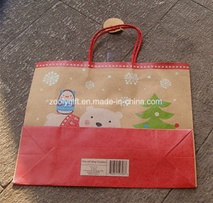 Large Recycle   Brown Kraft Paper Gift Bag Eco Friendly Kraft Paper Bag pictures & photos