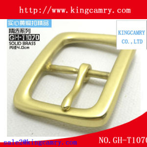 Hot Sale Custom Anti Brass Metal Pin Belt Buckle pictures & photos
