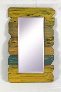 Spring Colorful Wooden Mirror/Wall Decoration