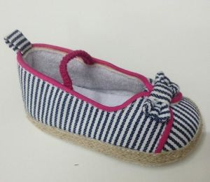 Strip Fabric Baby Casual Shoes Ws17518 pictures & photos
