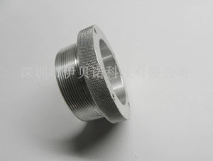 CNC Lathe Part with Aluminium, Clear Anodized pictures & photos